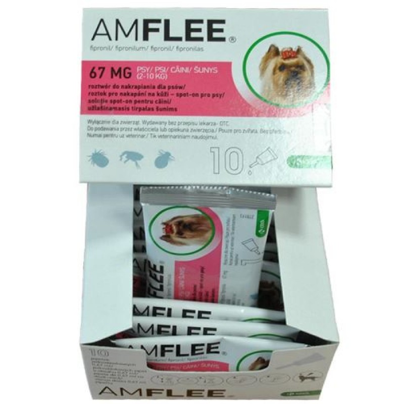 Amflee Dog 67 MG 2 10 Kg 1 Pipeta