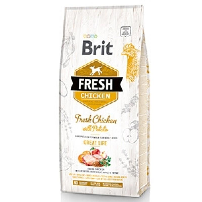 Brit Fresh Chicken & Potato Adult 2,5 kg