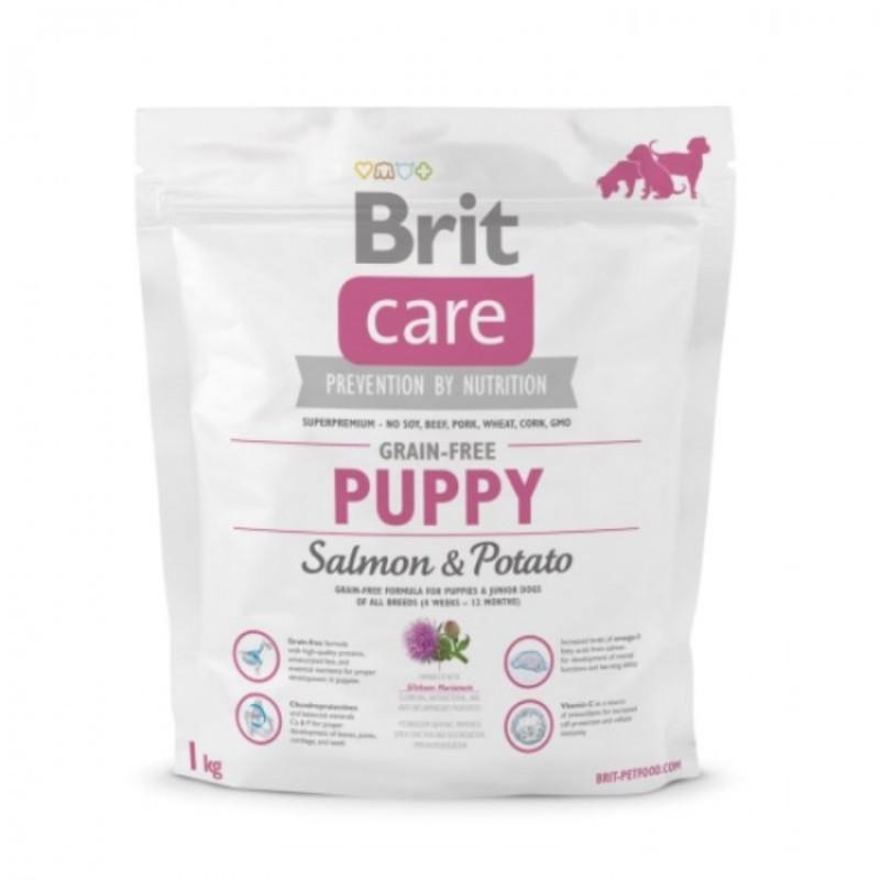 Brit Care Grain free Somon si Cartof 1 Kg
