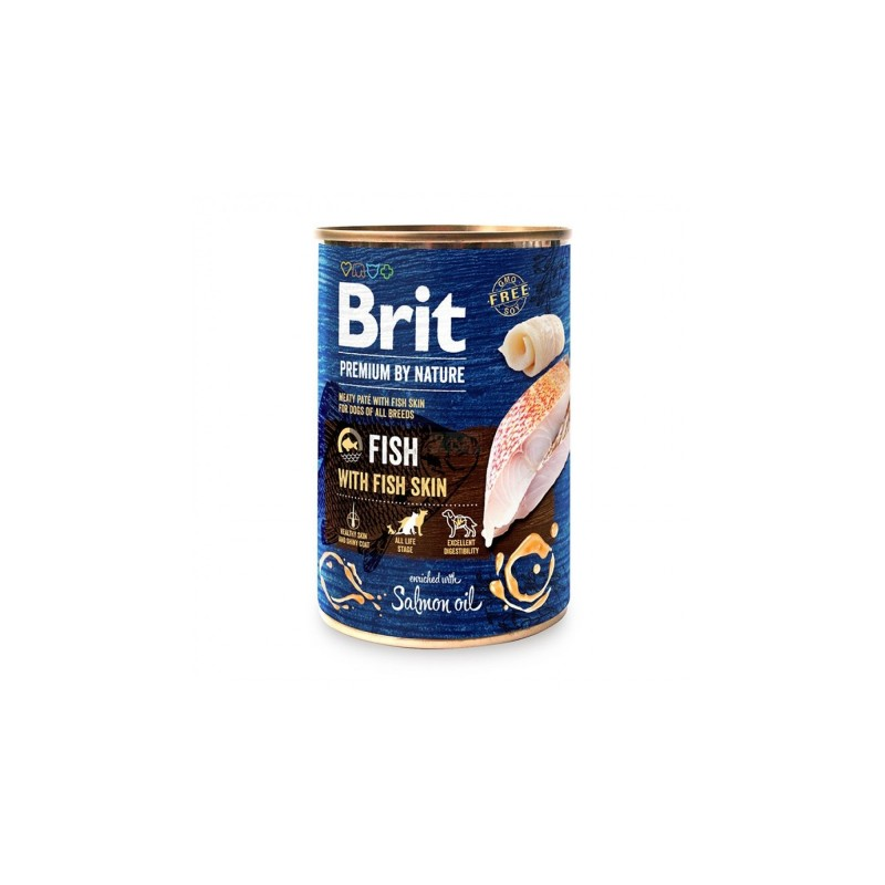 Brit Premium By Nature Fish With Fish Skin Conserva 400 Gr