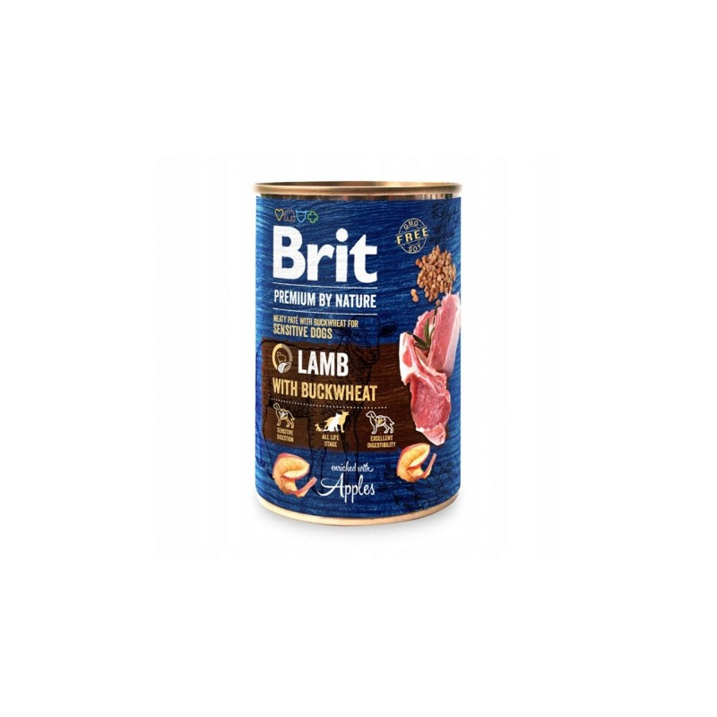 Brit Premium By Nature Lamb With Buckwheat Conserva 800 Gr