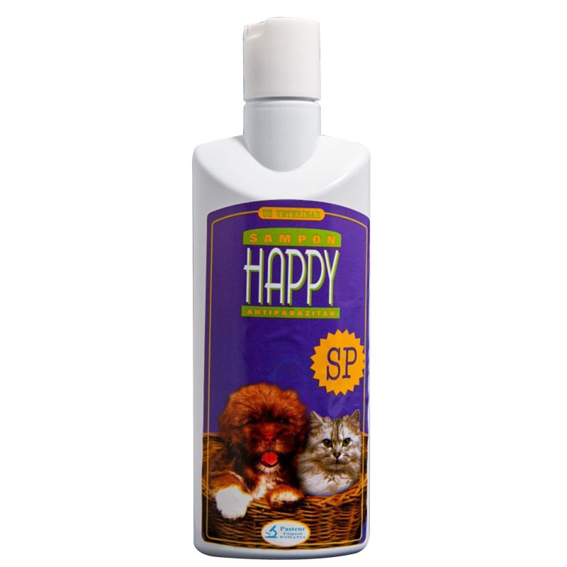 Sampon Antiparazitar Happy SP 200 ml