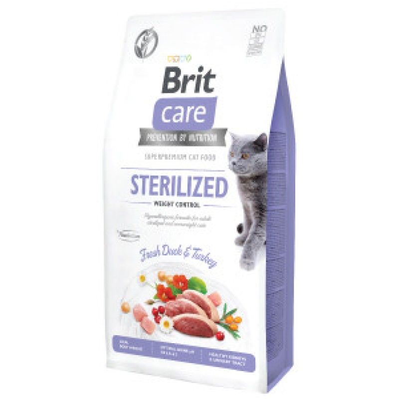 Brit Care Cat Grain Free Sterilised 7 kg