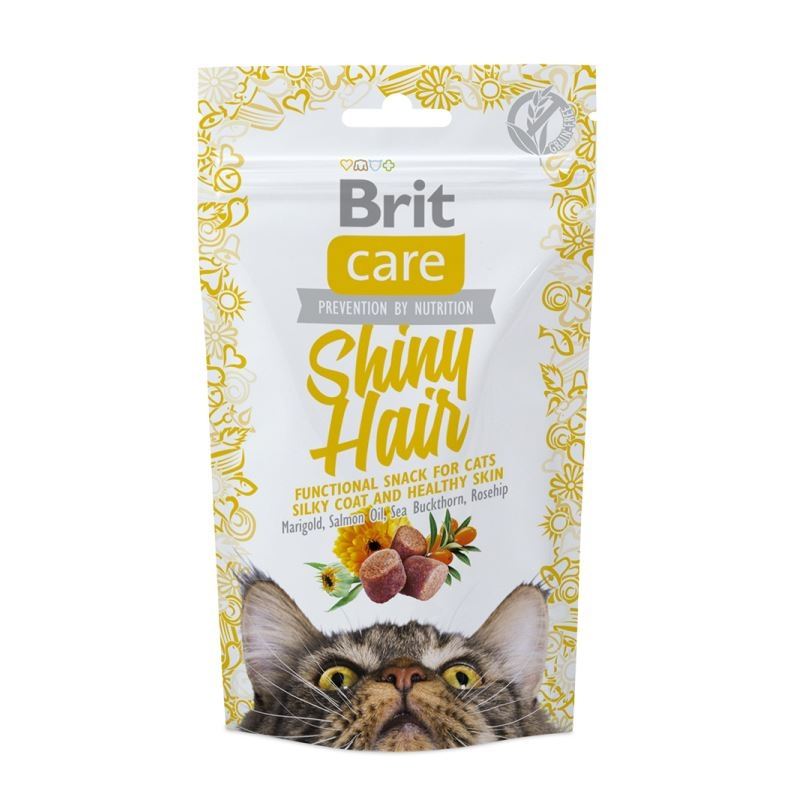 Brit Care Cat Snack Shiny Hair 50 Gr
