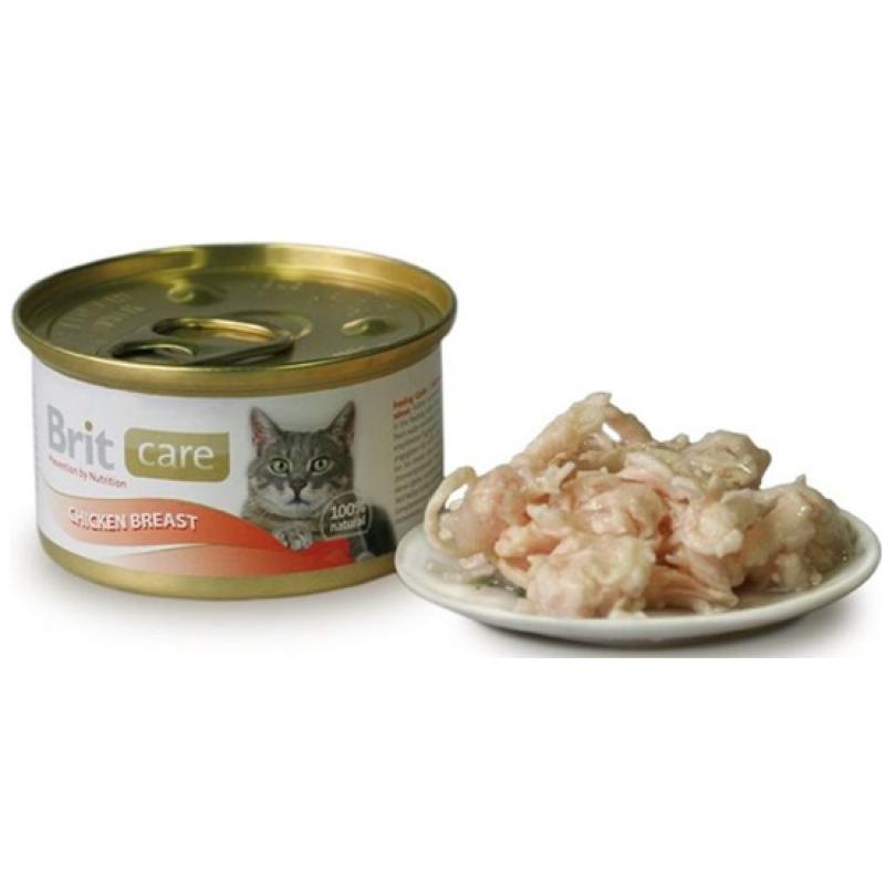 Brit Care Cat Conserva Cu Piept De Pui 80 Gr