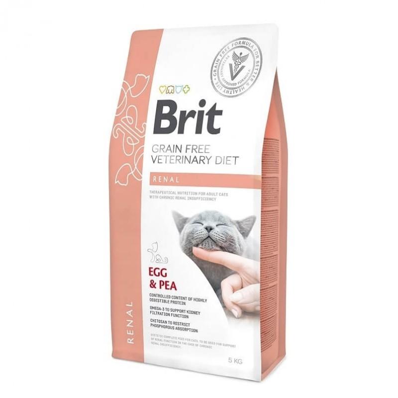 Brit  Grain Free Veterinary Diet Cat Renal 2 Kg