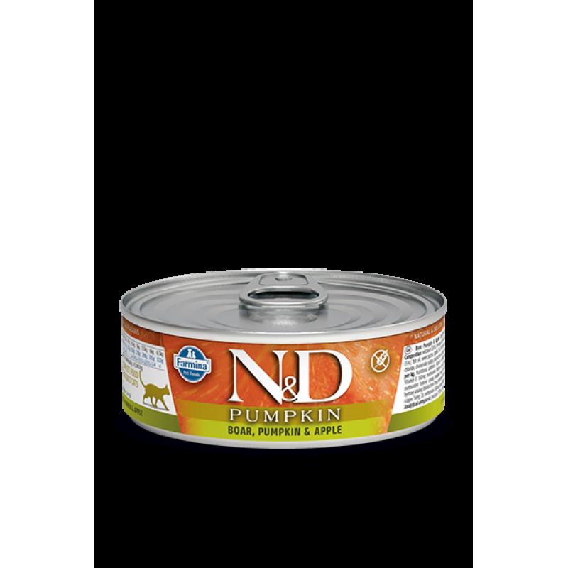 N&D Cat Duck & Pumpkin Conserva 80 Gr