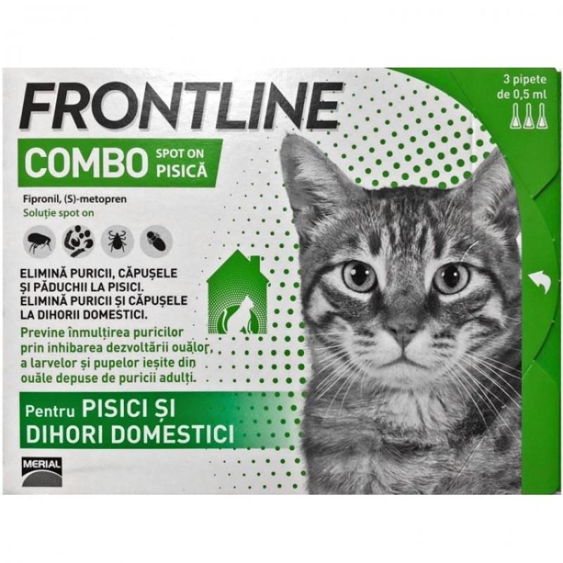 Frontline Combo Spot On Pisica 1 Pipeta