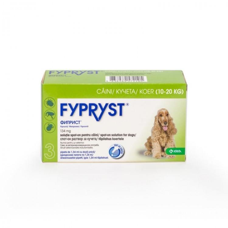 Fypryst Dog M 10 20 kg 1 Pipeta shop4pet.ro