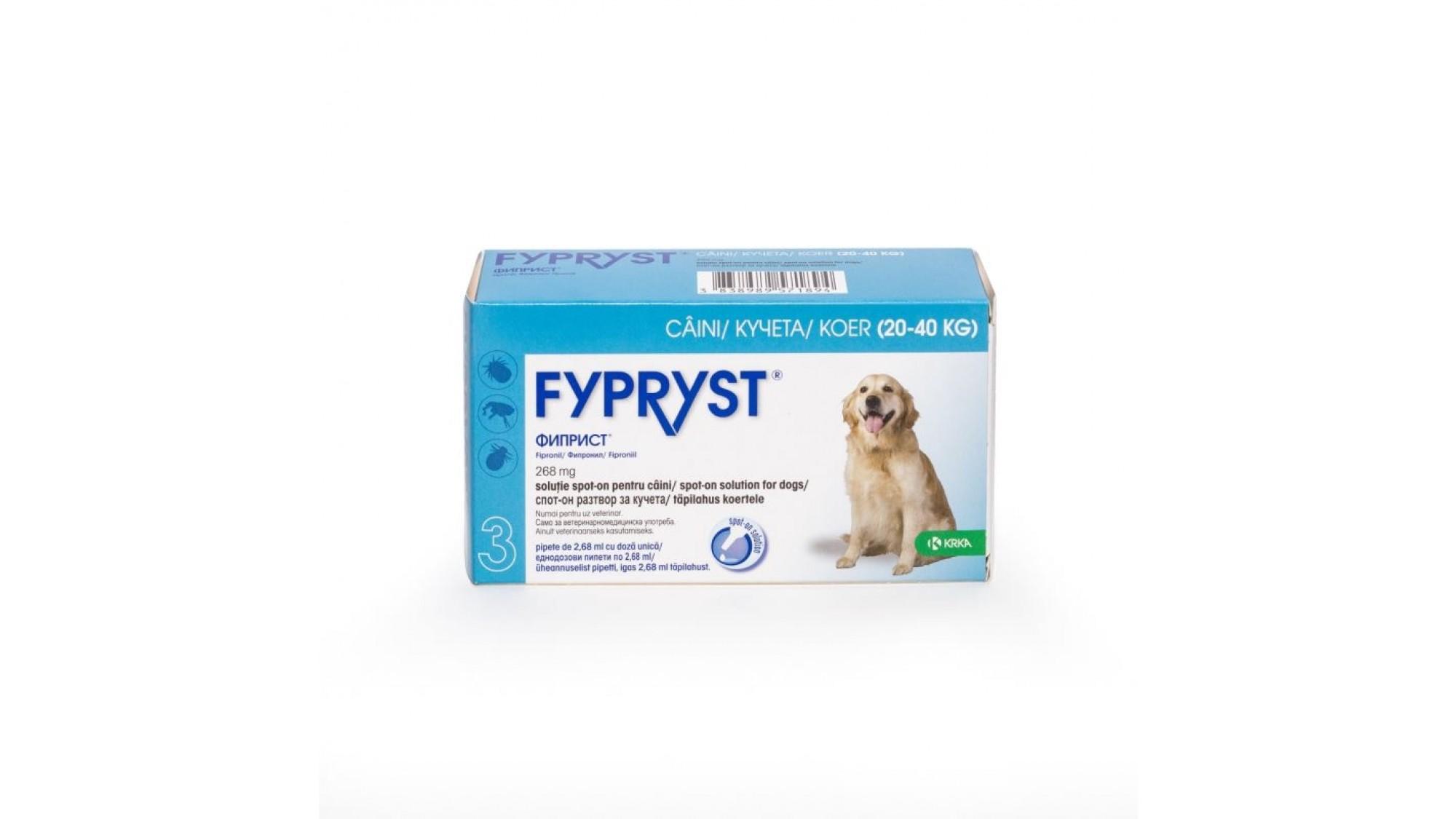 Fypryst Dog L 20-40 kg 1 Pipeta shop4pet.ro