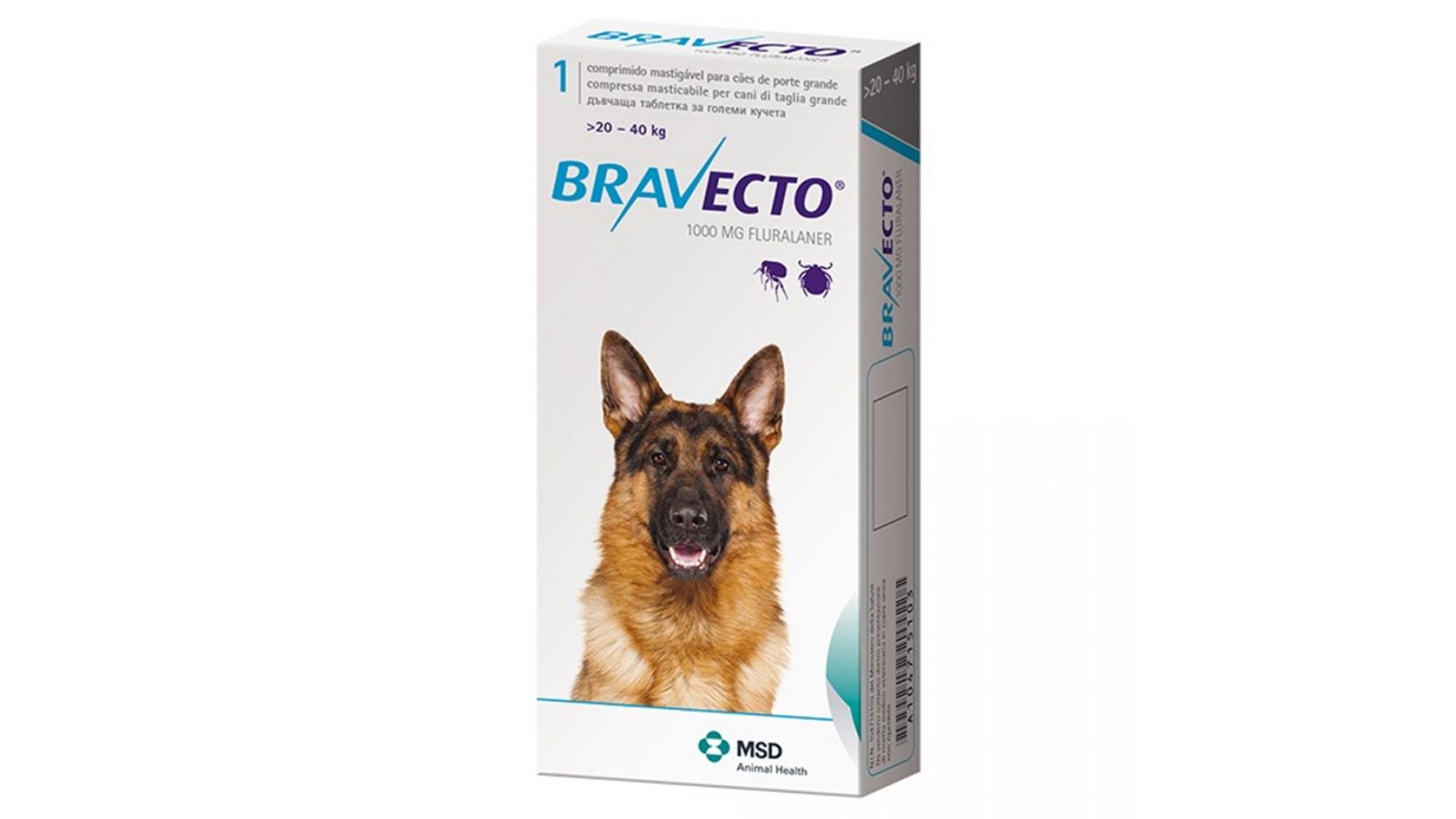 Bravecto 20-40 Kg 1 Tableta x 1000 Mg shop4pet.ro