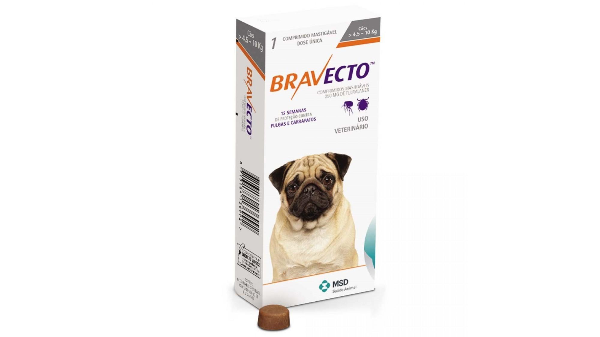 Bravecto 4.5-10 Kg 1 Tableta x 250 Mg shop4pet.ro