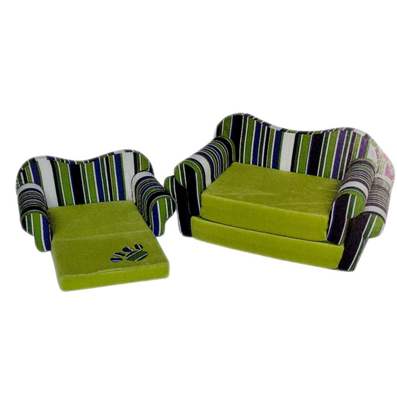 Culcus Canapea Textila Pentru Caini si Pisici M shop4pet.ro