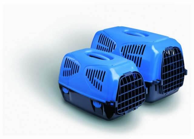 Cusca Transport Sirio Small Albastru 50X33X31 Cm shop4pet.ro