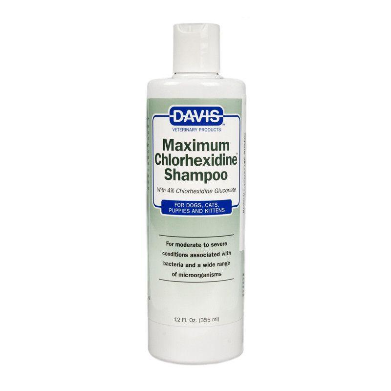 Sampon Davis Maximum Chlorhexidine 335 ml shop4pet.ro