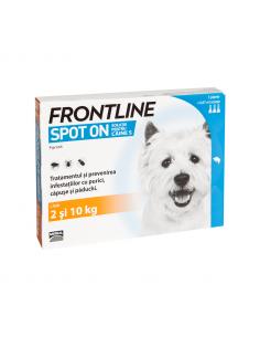 Frontline Spot On Caine S 2-10 kg 1 Pipeta shop4pet.ro