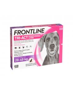 Frontline Tri Act L 20-40 Kg 1 Pipeta shop4pet.ro