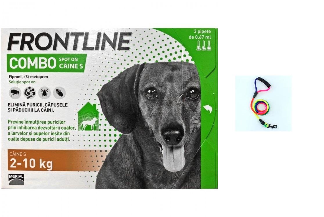 Frontline Combo S ( 2 10 kg ) 1 pipeta shop4pet.ro