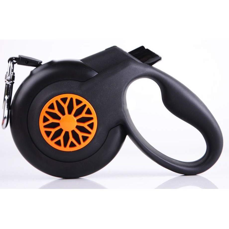 Lesa Fida Smart Banda S Black + Orange 5-12 KG 5M shop4pet.ro