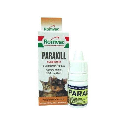 Parakill 5 ml 100 picaturi shop4pet.ro