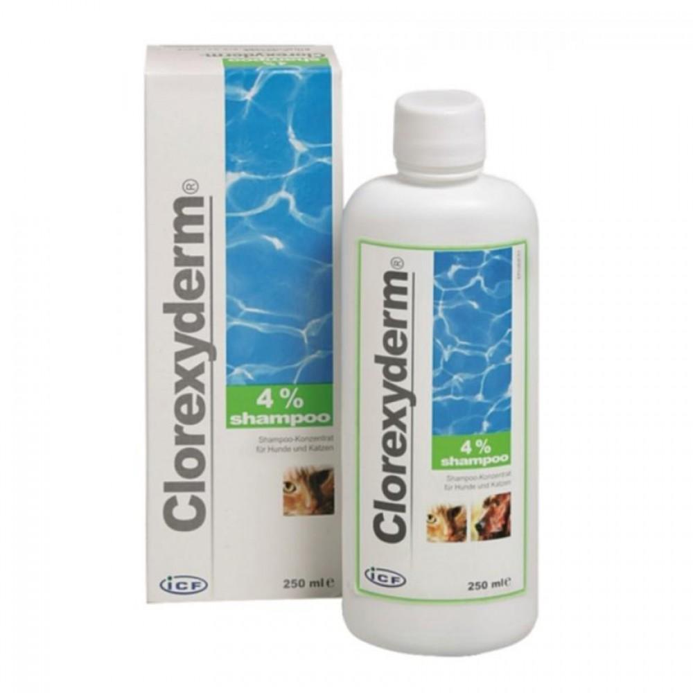 Sampon Clorhexiderm 4% 250 ml shop4pet.ro