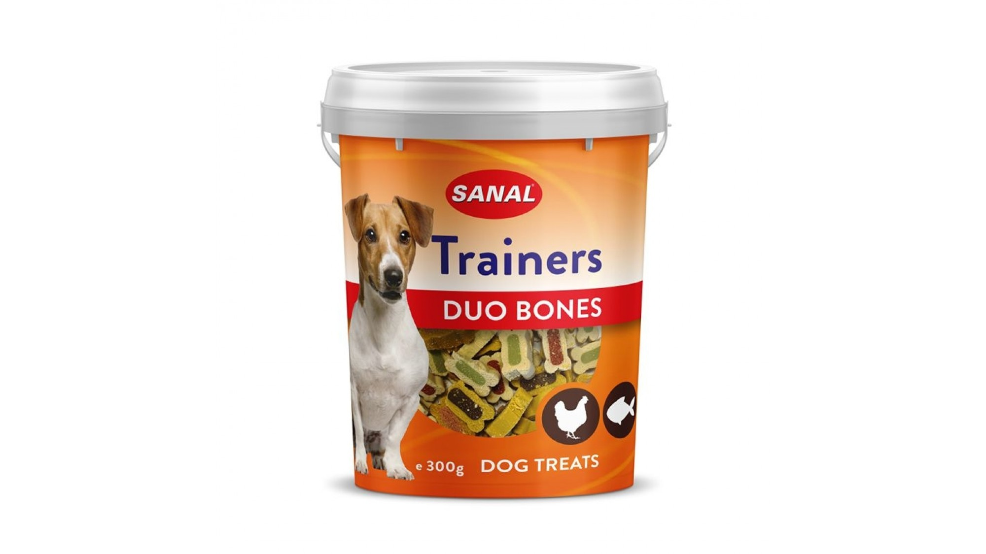 Sanal Trainers Duo Bones 300 gr shop4pet.ro