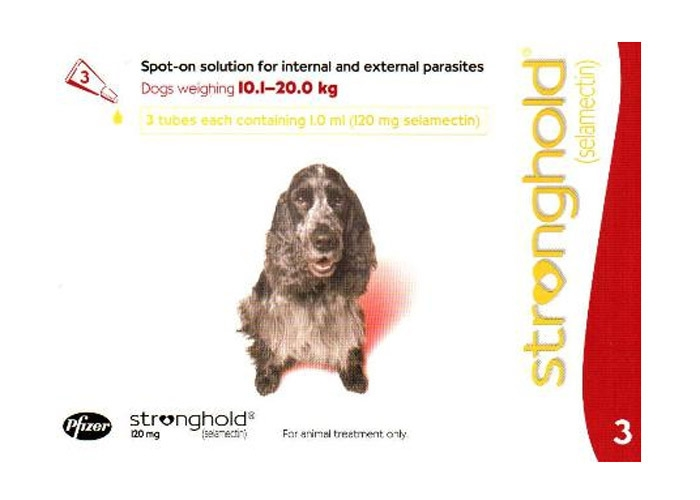 Stronghold Caine 120 Mg 10-20 kg 1 pipeta shop4pet.ro