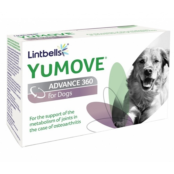 Yumove Advance 360 For Dog 120 Tablete shop4pet.ro