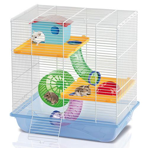 Cusca Hamsteri Criceti 7 Alb/Azzuro shop4pet.ro