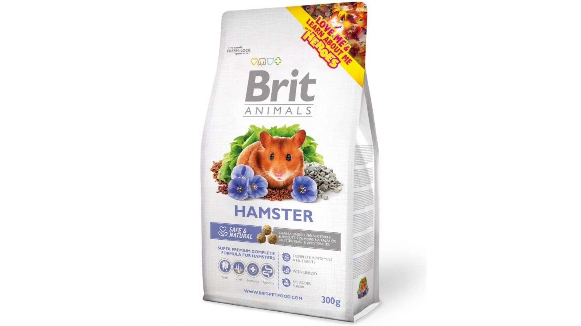 Brit Premium Hamster 300 G shop4pet.ro