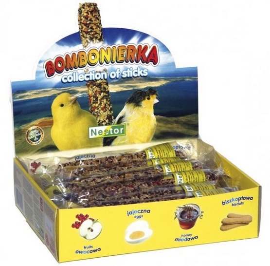 Batoane Pentru Canari 12 Buc Pe Set shop4pet.ro