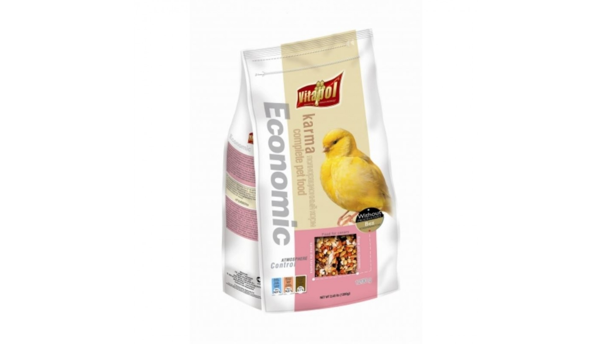 Hrana Standard Canari Vitapol 1.2 Kg shop4pet.ro