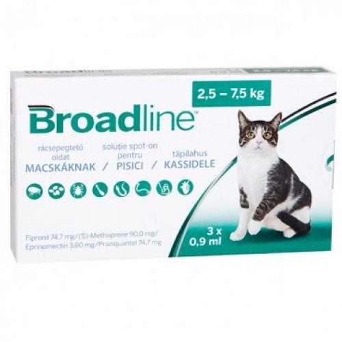 Broadline Pisica 2.5-7.5 kg X 1 Pipeta shop4pet.ro