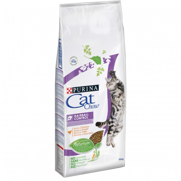 Purina Cat Chow Adult Hairball Control 1.5 Kg shop4pet.ro