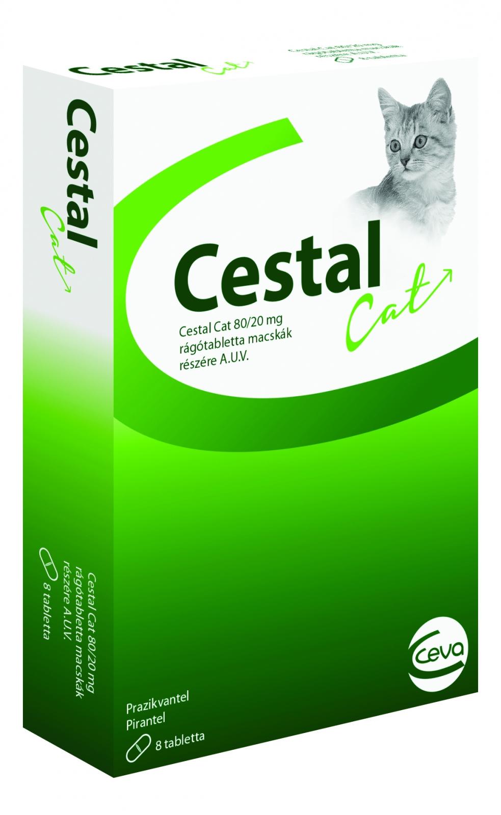 Cestal Cat Deparazitare Interna Pisici X 1 Tablete shop4pet.ro