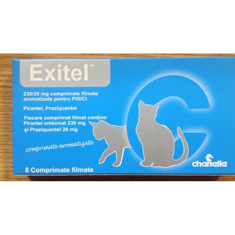 Exitel Cat Deparazitare Interna Pisici X 1 Tableta shop4pet.ro