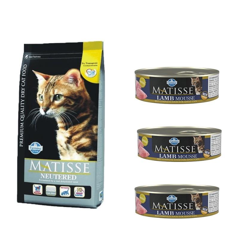Matisse Pisici Sterilizate 10 Kg shop4pet.ro