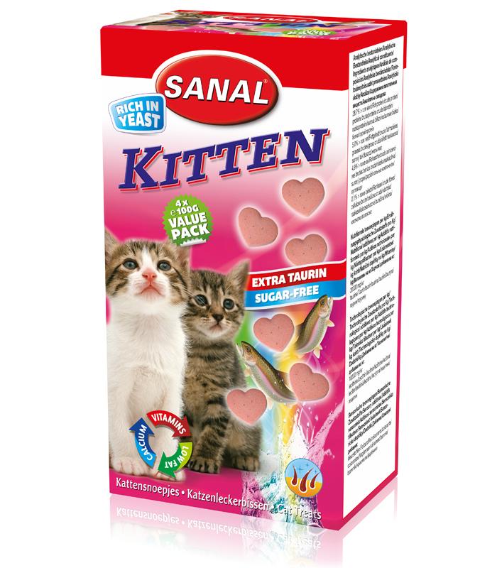 Sanal Kitten 40 tablete shop4pet.ro