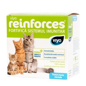 Viyo Reinforces Cat Toate Varstele 7X30 Ml shop4pet.ro