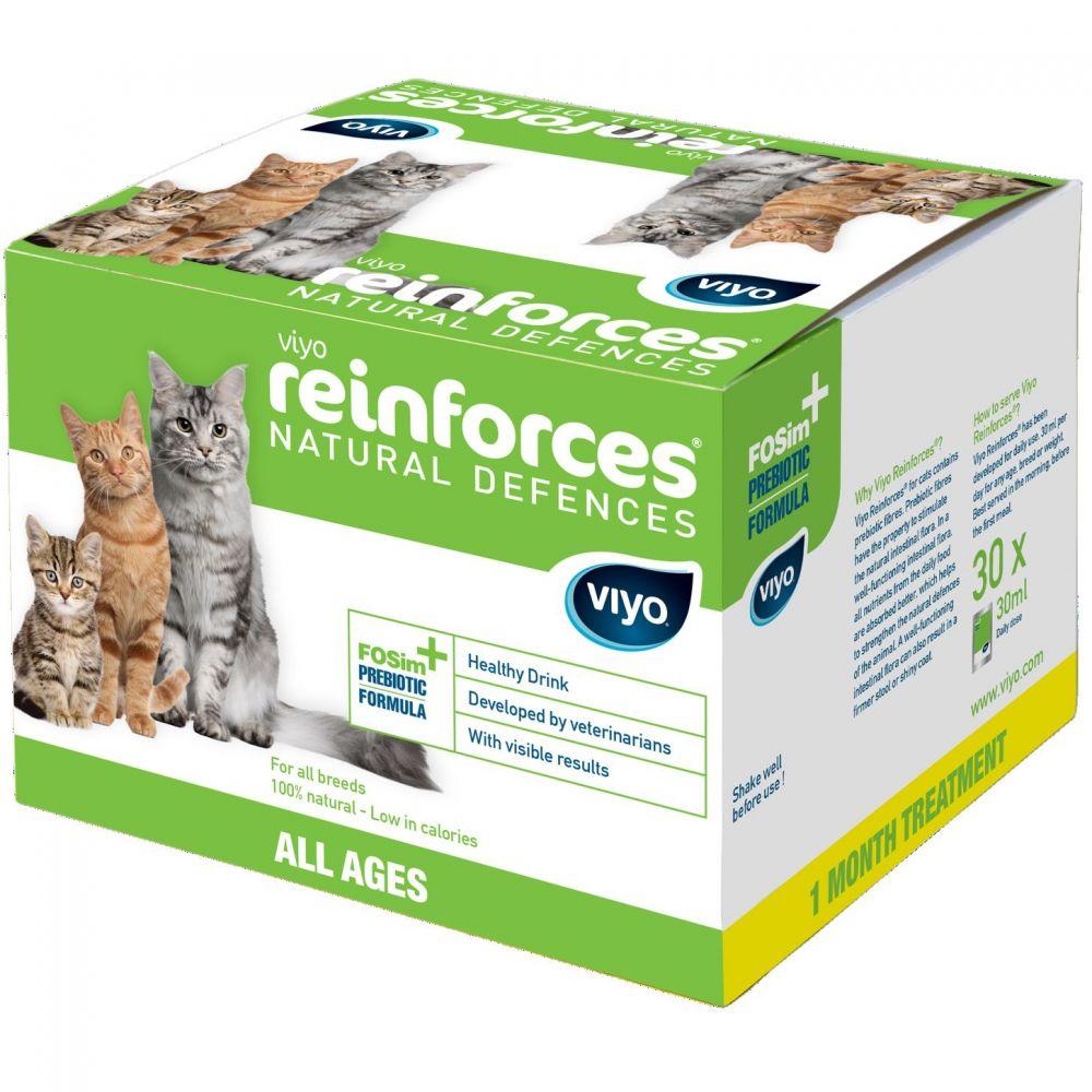 Viyo Reinforces Cat All Ages 30X30 Ml shop4pet.ro